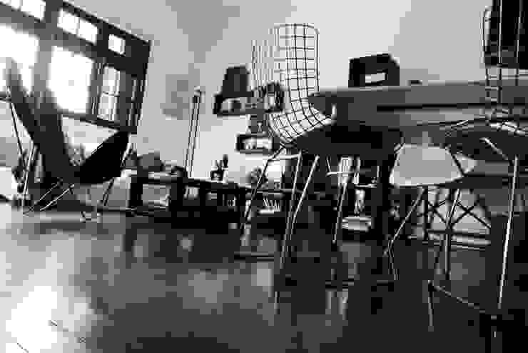 Oficinas y tiendas de estilo ecléctico de laura zilinski arquitecta Ecléctico