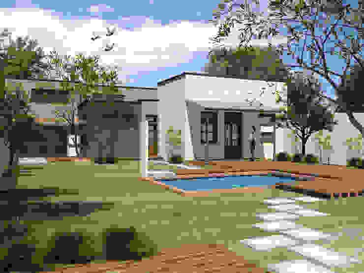casa ciocastias Casas modernas: Ideas, imágenes y decoración de laura zilinski arquitecta Moderno