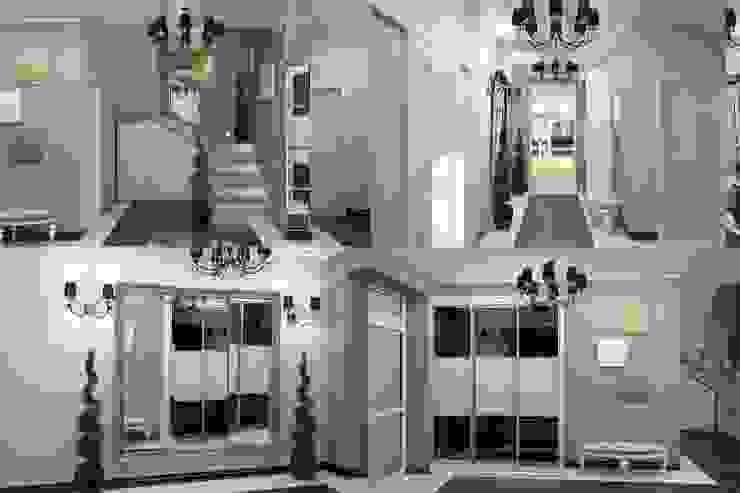 Interiors Коридор, прихожая и лестница в классическом стиле от Мастерская дизайна INDIZZ Классический