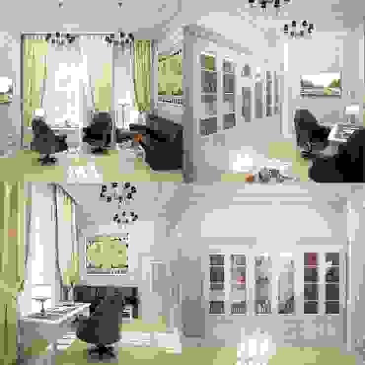 Interiors Рабочий кабинет в классическом стиле от Мастерская дизайна INDIZZ Классический