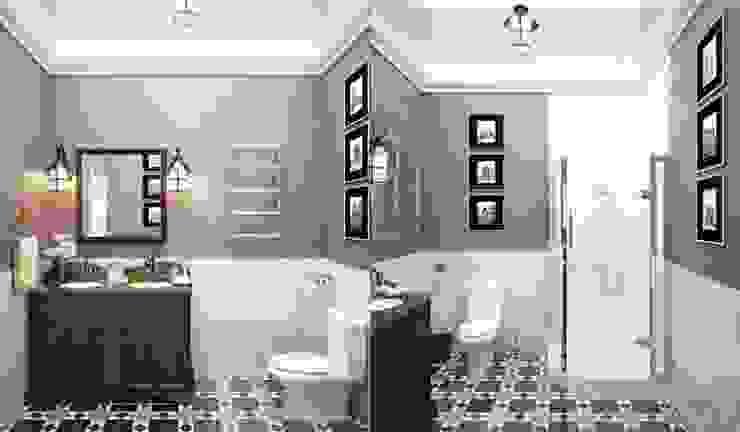 Interiors Ванная в классическом стиле от Мастерская дизайна INDIZZ Классический