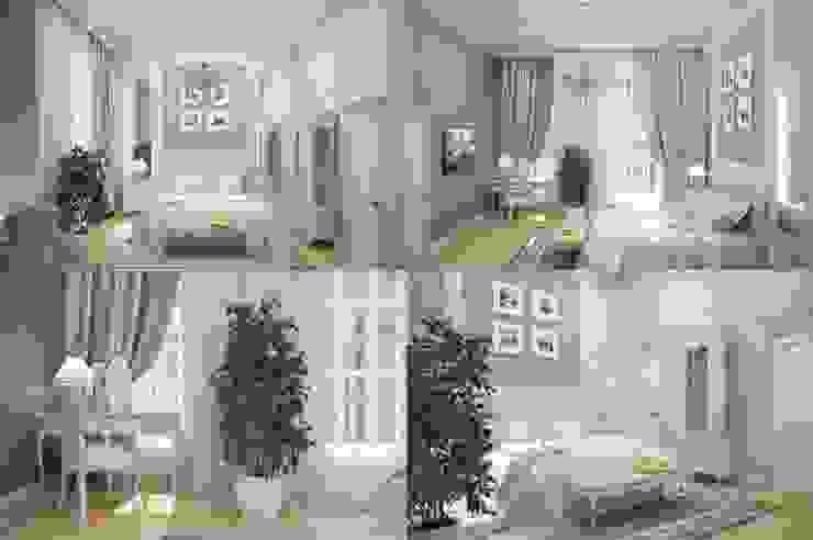 Interiors Спальня в классическом стиле от Мастерская дизайна INDIZZ Классический