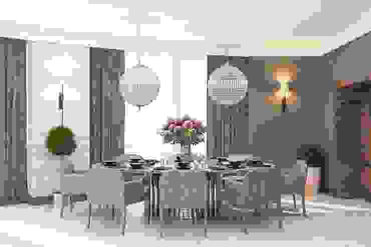 Interiors Столовая комната в классическом стиле от Мастерская дизайна INDIZZ Классический
