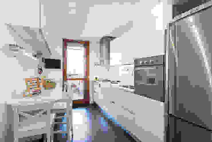 zero6studio - Studio Associato di Architettura Кухня Білий