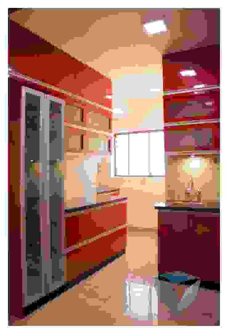 KITCHEN Modern kitchen by IN-CUBE STUDIO Modern