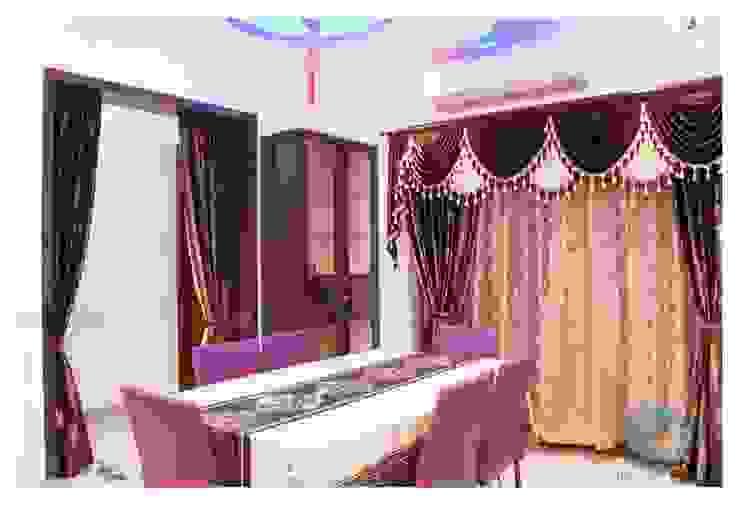 DINNING Modern dining room by IN-CUBE STUDIO Modern