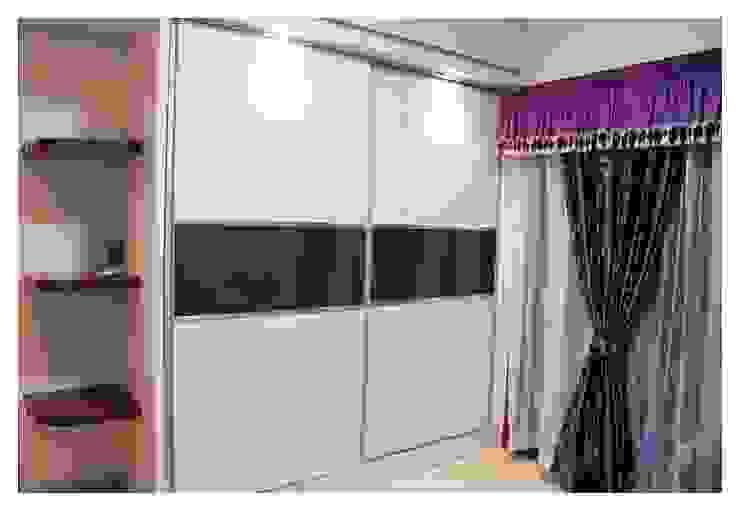 Mr.Sunder Raj Modern style bedroom by IN-CUBE STUDIO Modern Plywood