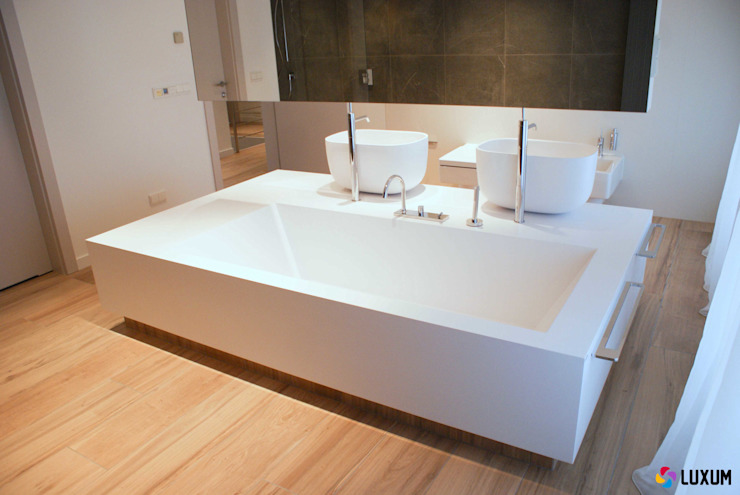Modern Bathroom by Luxum Modern