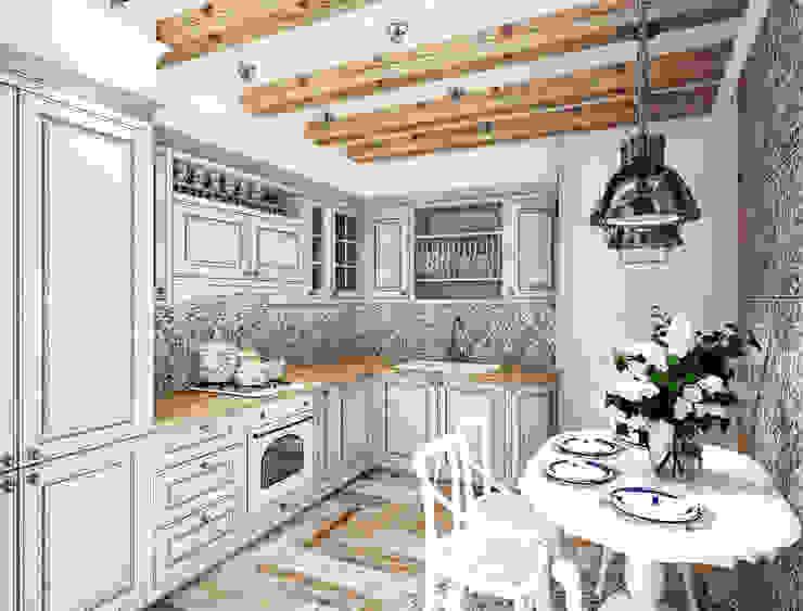СРЕДИЗЕМНОМОРЬЕ Кухня в средиземноморском стиле от GraniStudio Средиземноморский