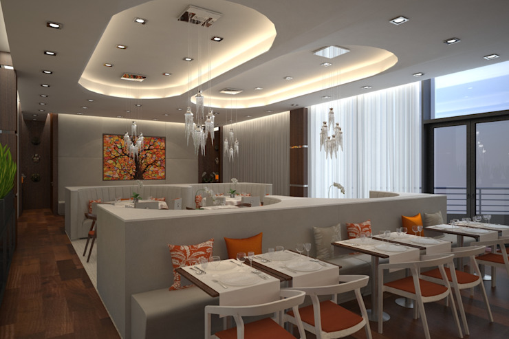 Restaurante Boss por Red Centre - Interiors Harmony, by Design