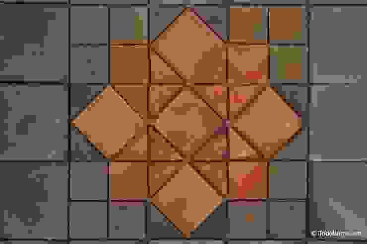 Pavimento cerámico de barro Salomón (01) de Todobarro Clásico Cerámico