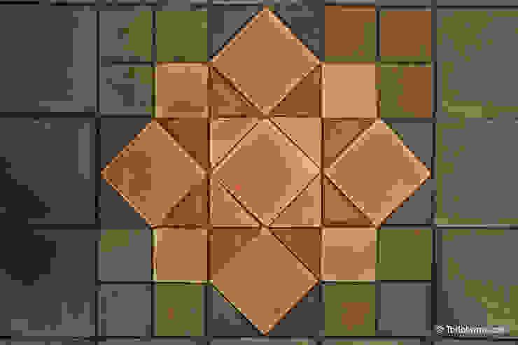 Pavimento cerámico de barro Salomón (06) Todobarro Paredes y suelosBaldosas y azulejos Cerámico Multicolor
