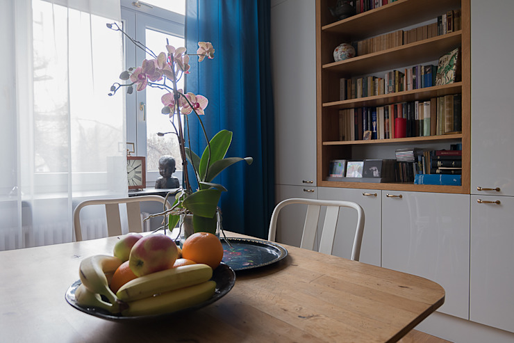 Jacek Tryc-wnętrza Classic style dining room White