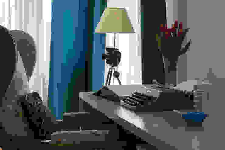 Jacek Tryc-wnętrza Classic style study/office Multicolored