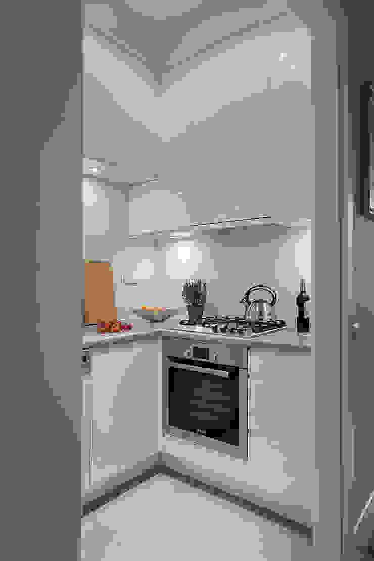 Jacek Tryc-wnętrza Classic style kitchen White