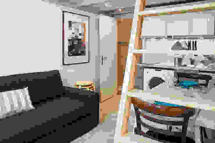 Entry Salas de estar modernas por Architecture Tote Ser Moderno