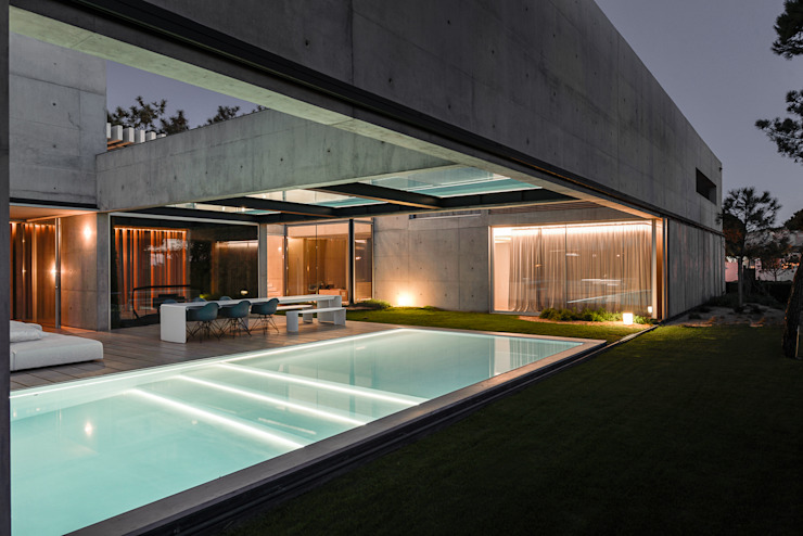 Minimalist houses by guedes cruz arquitectos Minimalist