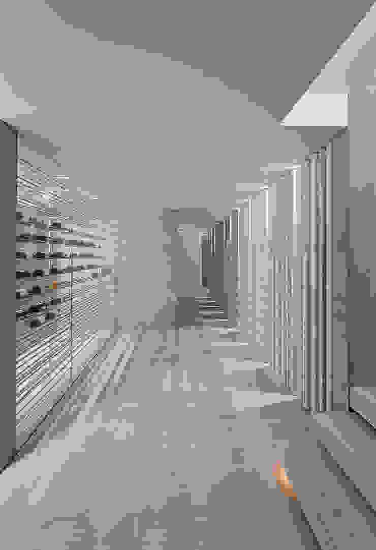 Garajes y galpones de estilo minimalista de guedes cruz arquitectos Minimalista
