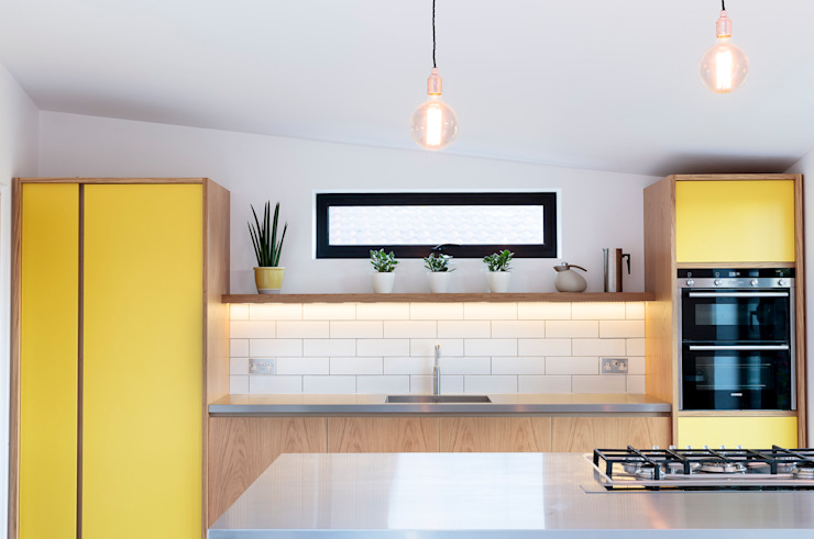 The Scandinavian Kitchen Papilio Cozinhas escandinavas Amarelo