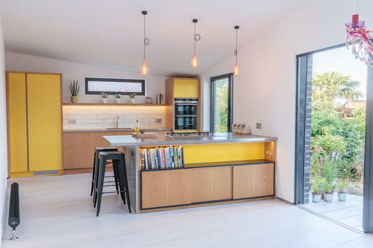 The Scandinavian Kitchen Papilio Kitchen Yellow