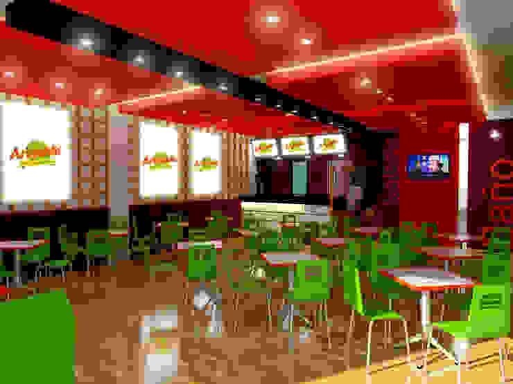 Local comercial de Jorge Osorio Arquitecto Moderno Compuestos de madera y plástico