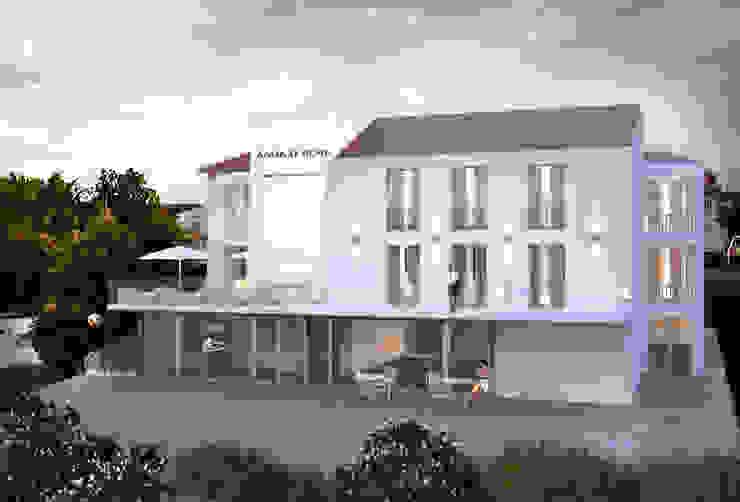 Mediterranean style hotels by 3DYpslon Mediterranean