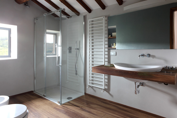 CASA A CAMPIROLI Officine Liquide Modern style bathrooms