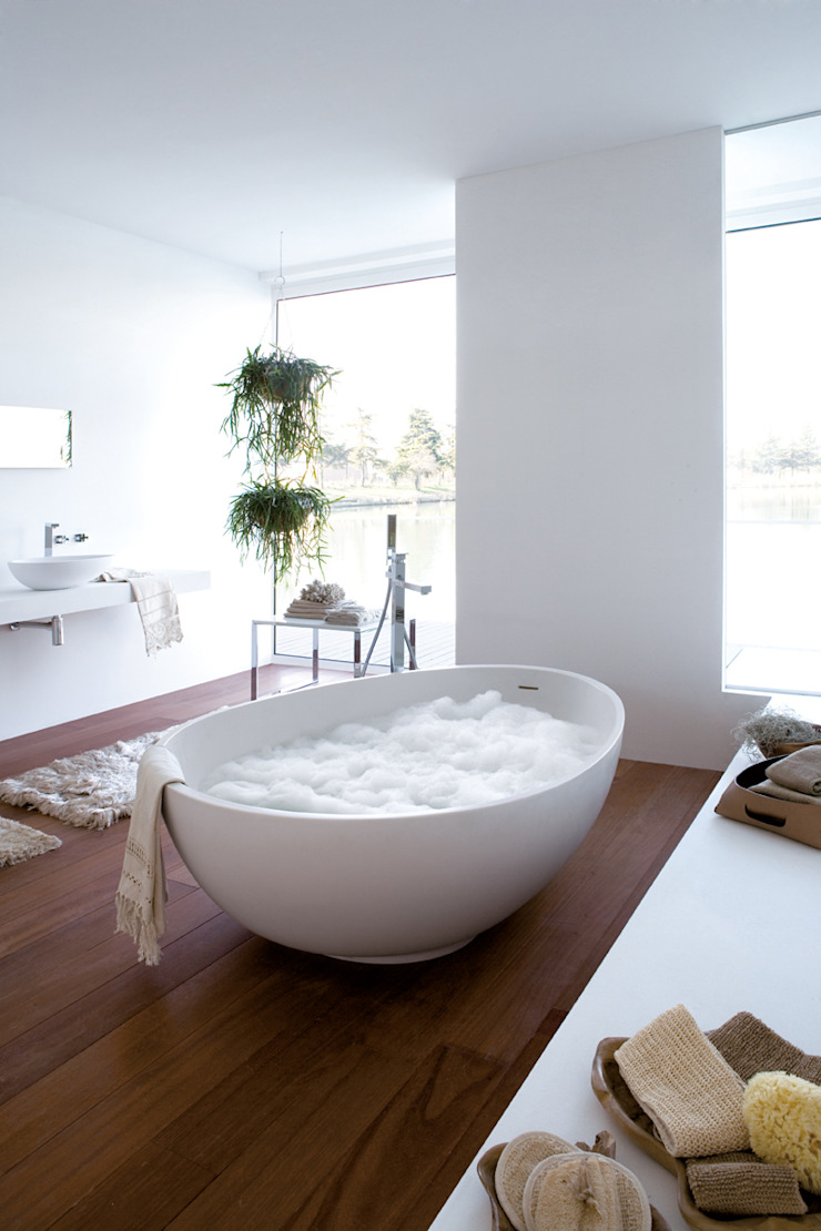 Mastella Design BathroomBathtubs & showers Synthetic White