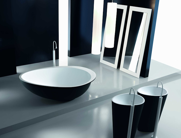 Mastella Design BathroomSinks Synthetic Black
