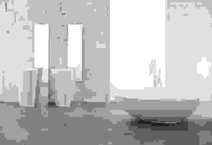 Mastella Design ห้องน้ำซิงก์ วัสดุสังเคราะห์ White