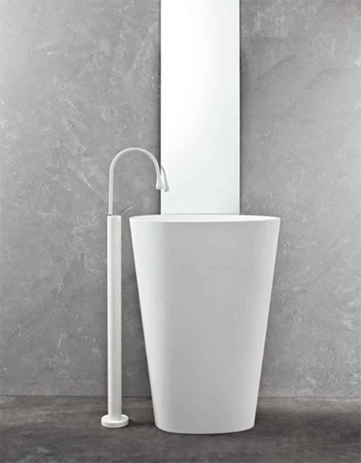 Mastella Design BathroomSinks Synthetic White