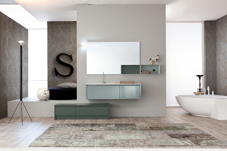 Mastella Design Modern bathroom MDF Brown