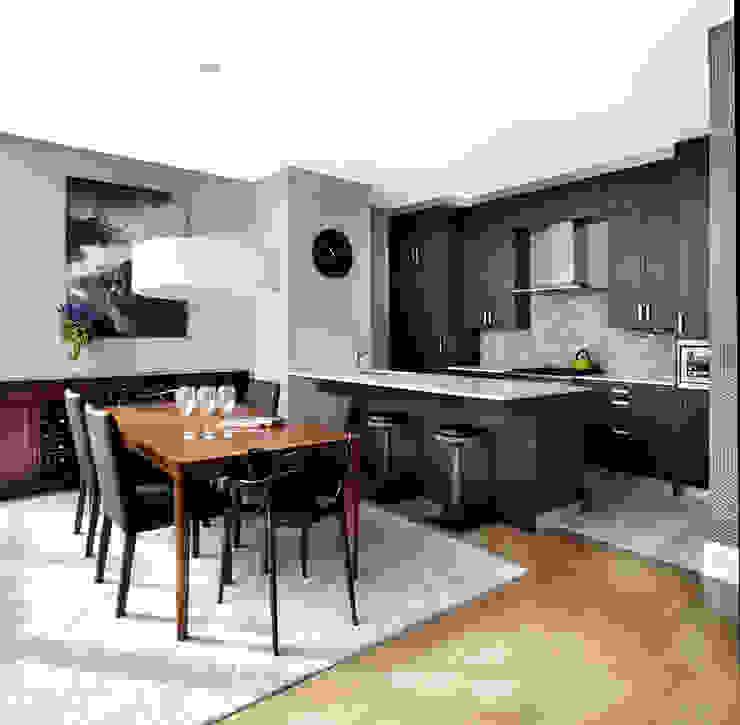 Penthouse Cuisine moderne par ANNA DUVAL Moderne
