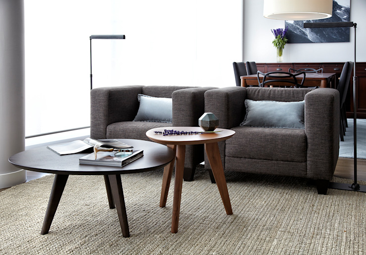 Penthouse Salon moderne par ANNA DUVAL Moderne