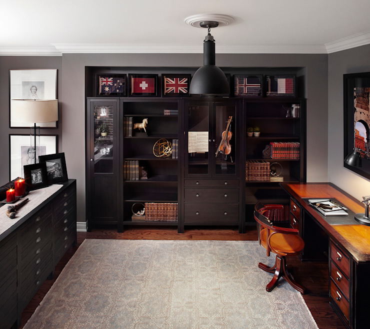 Study/office by ANNA DUVAL, Eclectic