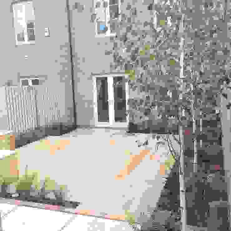 Small town garden Modern garden by homify Modern