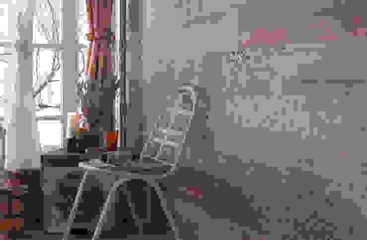 Płytki drewnopodobne Peronda Seawood Braque Kolonialny salon od Kolory Meksyku Kolonialny