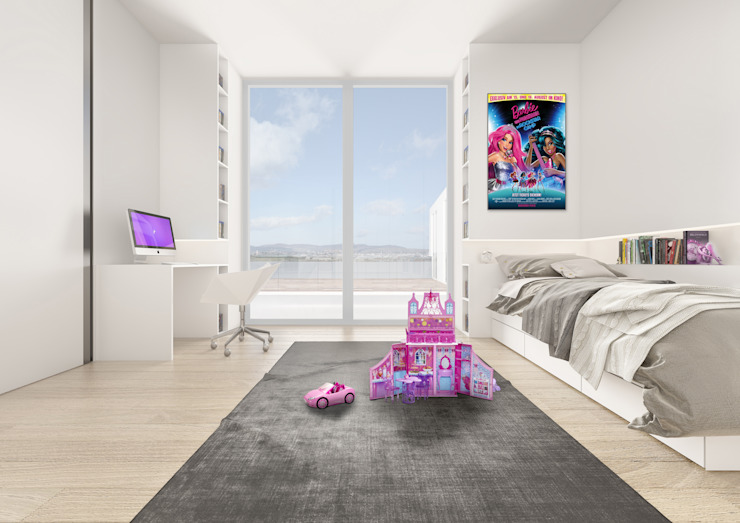 PENTHOUSE 23 Modern Bedroom by Who Cares?! Design Modern