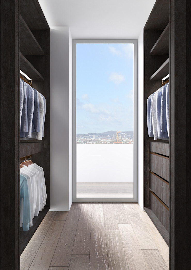 PENTHOUSE 23 Modern Dressing Room by Who Cares?! Design Modern