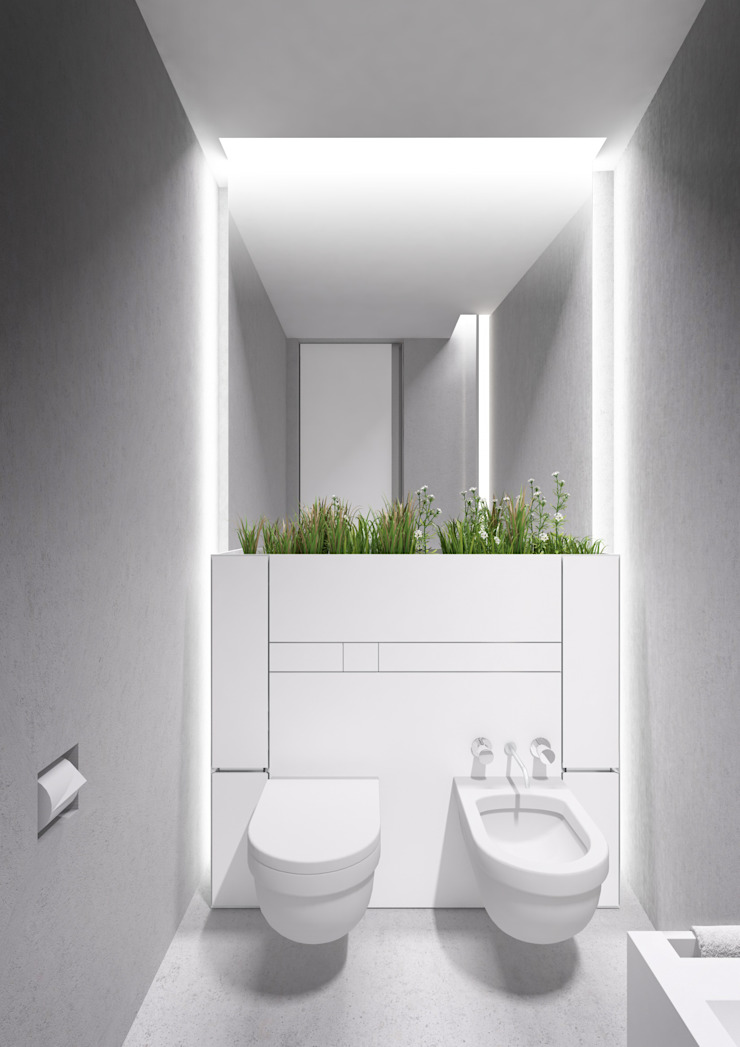 PENTHOUSE 23 Modern Bathroom by Who Cares?! Design Modern