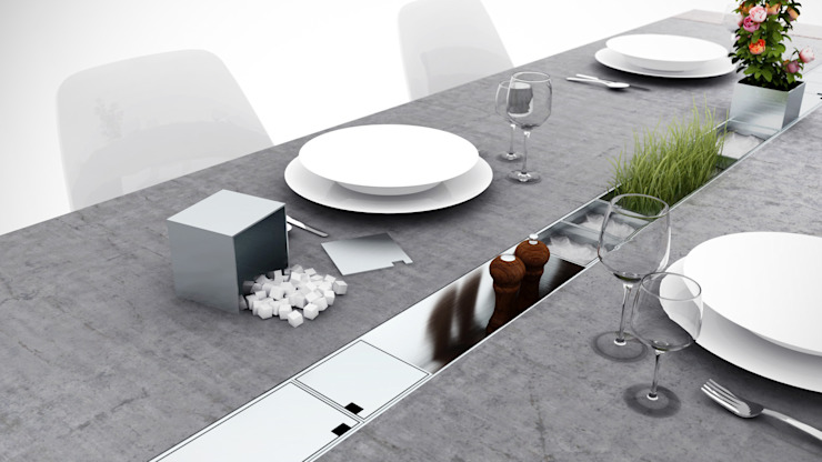 modern  by Who Cares?! Design, Modern