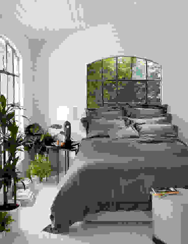 Cocoa silk bed linen: modern  by Gingerlily, Modern Silk Yellow
