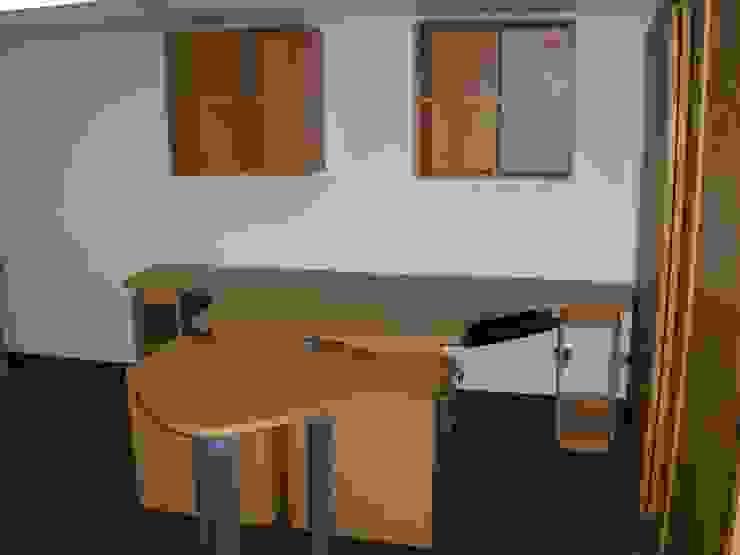 ABS C.A. de Forma y Espacio Arquitectos Constructores CA Moderno Derivados de madera Transparente