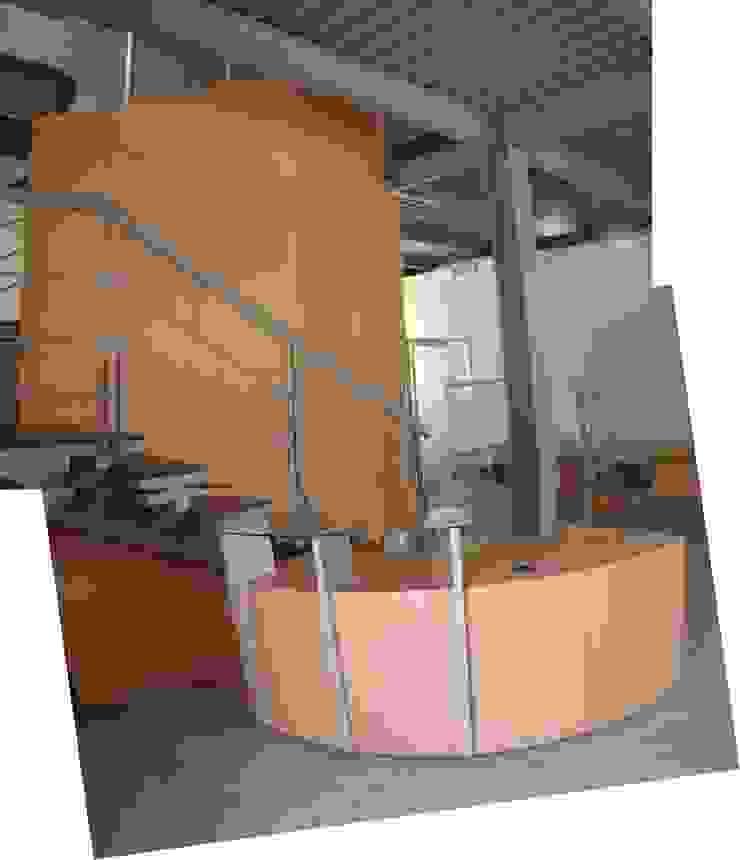 Oficinas Global Service C.A. Forma y Espacio Arquitectos Constructores CA Oficinas y Tiendas Derivados de madera