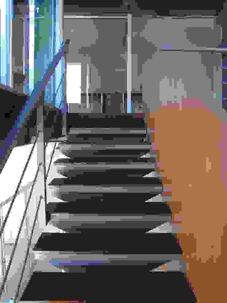 Oficinas Global Service C.A. Forma y Espacio Arquitectos Constructores CA Oficinas y Tiendas Hierro/Acero