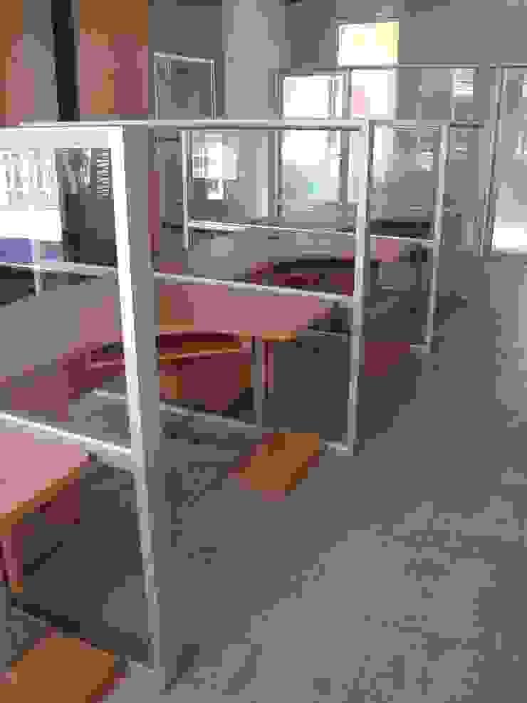 Oficinas Global Service C.A. Forma y Espacio Arquitectos Constructores CA Oficinas y Tiendas Aluminio/Cinc