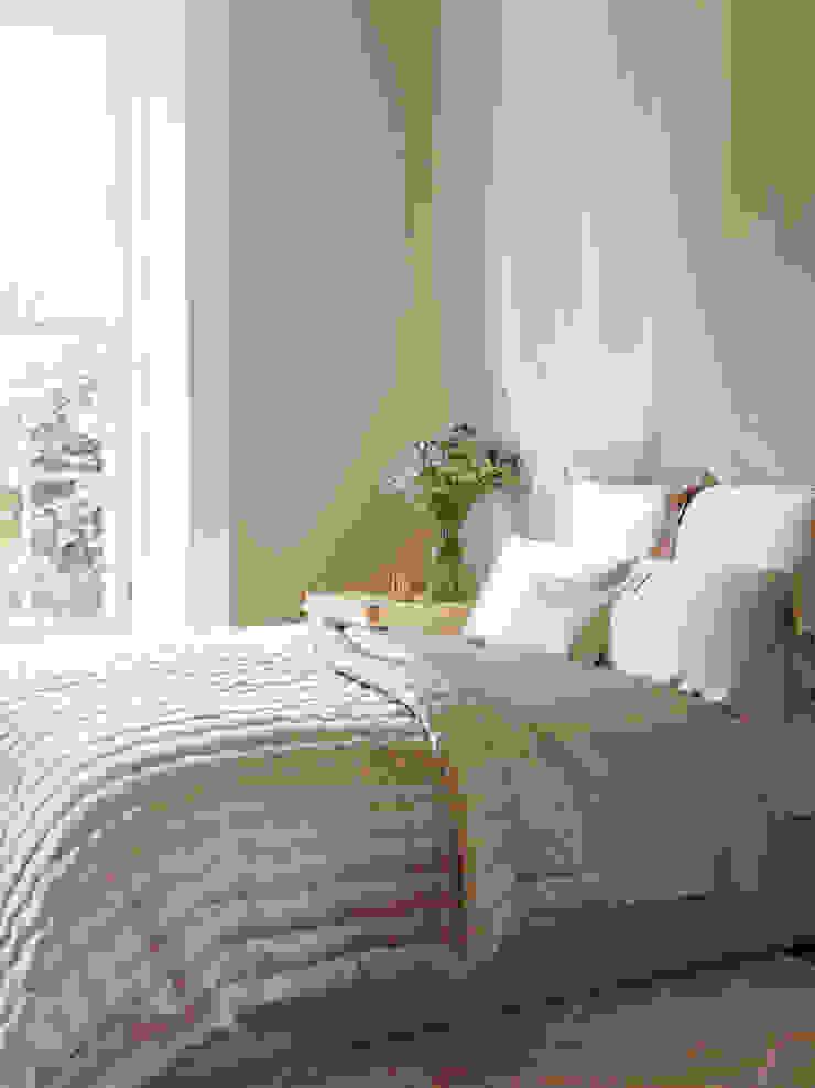 Windsor Nude silk bedspread Gingerlily BedroomAccessories & decoration Silk Pink