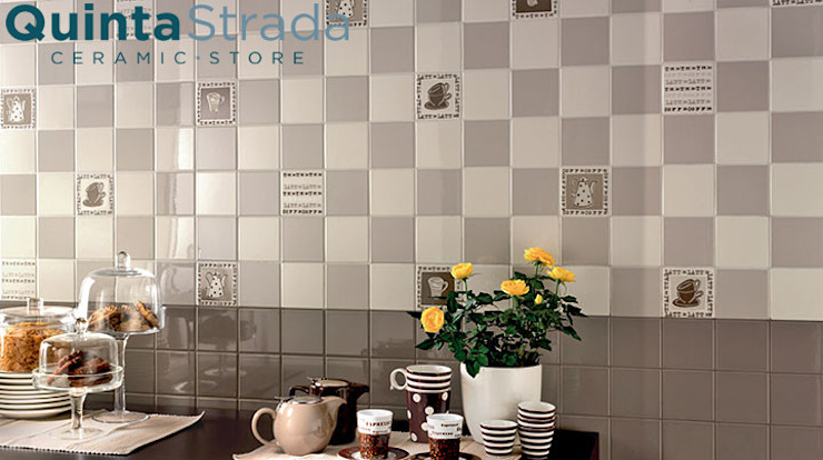 Collezione Mono Quinta Strada - Ceramic Store Cucina moderna