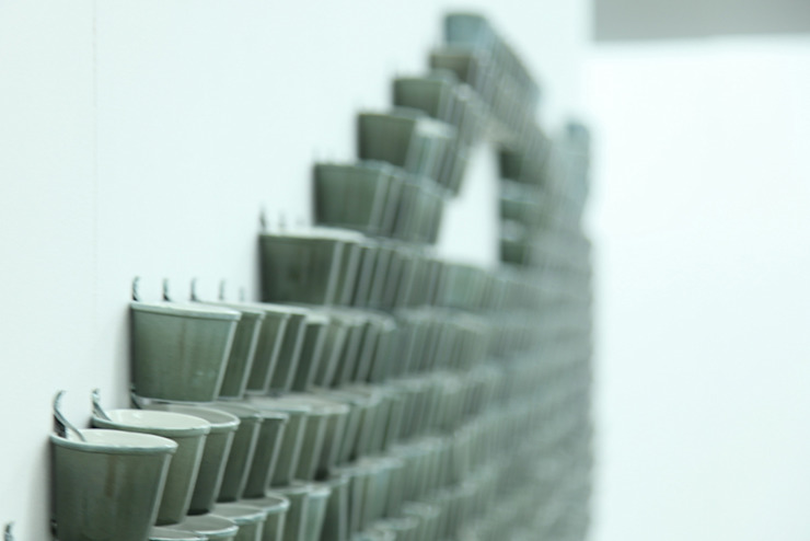 Bram van Leeuwenstein SztukaWyroby artystyczne Porcelana Szary