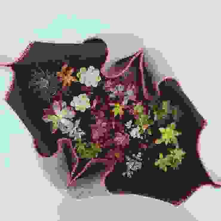 Maszeta de Cristina Orozco Cuevas Escandinavo Textil Ámbar/Dorado